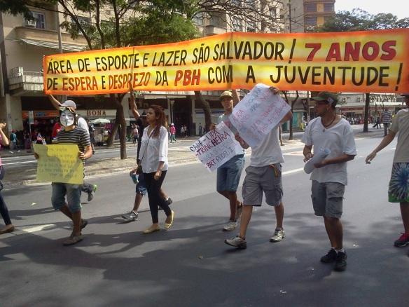 Manifestação Praça 7